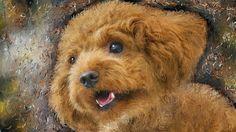 "PCペイントで絵を描きました! Art picture by Seizi.N:   僕の飼っている愛犬ティアモは、トイプードル犬で系統でしょうか本当に頭がよく、ぬいぐるみのティディーベアーの様で可愛いし飼いやすいです、そんな愛犬をお絵描きしてみました。  Bobby McFerrin & Chick Corea Duet ""Spain"" - Jazz à Vienne 2012 (part 2/2) http://youtu.be/_o2RS8WfcbY"