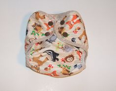 Newborn Cloth Diaper Cover  Nappy Wrap with by softandscrubby