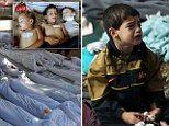 #Syria's darkest hour: Hundreds of #children's bodies piled high after nerve gas…