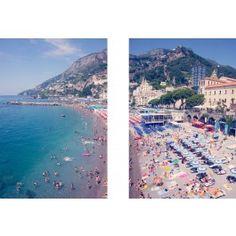 Amalfi Diptych by Gray Malin