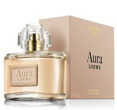 Aura Loewe perfume 2013 Top notes are pink pepper, red currant, violet leaf and bergamot; middle notes are jasmine, rose, iris and narcissus; base notes are leather, sandalwood, raspberry and cedar.