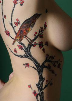 * Bird and Berries *