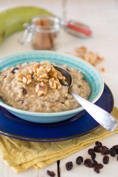 Paleo Rijstepap van bakbanaan #Paleo #breakfast #banana