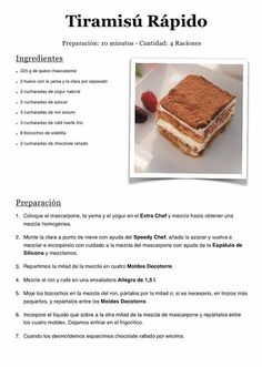 Salvadorian Food, Cake Recipes, Dessert Recipes, Tiramisu Recipe, Food Garnishes, Breakfast Cake, Cake Shop, Recipe For 4, Cookie Desserts