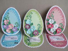 Easter Projects, Easter Crafts, Diy Crafts Hacks, Diy And Crafts, Easter Bunny, Easter Eggs, The Colour Of Spring, Art N Craft, Easel Cards