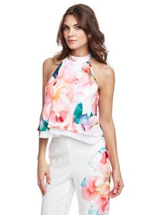 Marciano floral Top