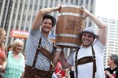 Barrel Upon Barrel of Craft Beer at Zinzinnati Oktoberfest | The ...