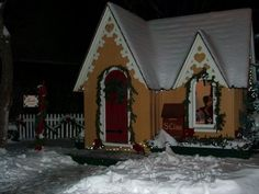 Santa Claus' house in Cooperstown, NY