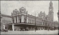 Luz train station in 1918 - Sao Paulo, Brazil