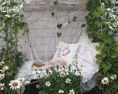 Ideas Shabby Chic: Rinconcitos de Jardin