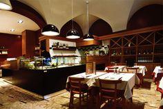 Al Picchio, Restaurant, Via del Lavatore 39 Rome, design and made by RPM Proget