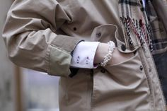 Barbour, Burberry & pearls