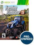 Farming Simulator 15 - PRE-Owned - Xbox 360, Multi