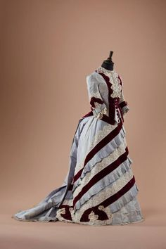 Dress, mid-1870's  From the collection of Alexandre Vassiliev