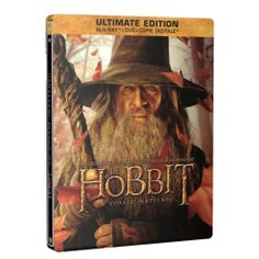LE HOBBIT : UN VOYAGE INATTENDU | BLU-RAY NEUF - Ed. Limitée SteelBook Gandalf