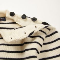 a can't miss combo sailor stripes and side buttons