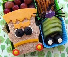 Halloween, Frankenstein sandwich