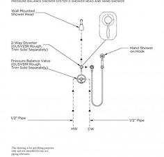 This System Shows The Installation Of The Two Way Diverter To Divert The  Water From The