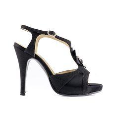 SANDALO #NERO 914_120, Wedding & Gala ----- #BLACK SANDAL 914_120, Wedding & Gala -----  #Paoul #weddingshoes #galashoes #shoes #womenshoes
