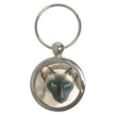 12.99$  Watch here - http://viwod.justgood.pw/vig/item.php?t=07fh9wq7181 - Round Key Chain from art painting Siamese Cat 377 12.99$