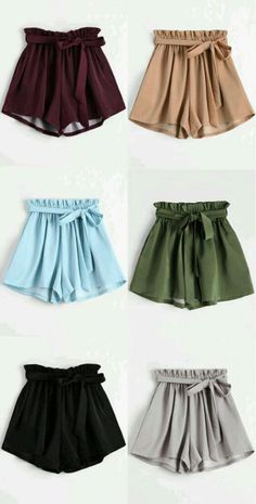 Do you wear shorts? It is my favorite. #fashiongirl #style #shorts #colors #summer