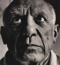 Pablo Picasso by Richard Avedon