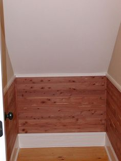Cedar Lined Closet   Perfect For Capecod Upstairs