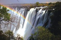 After the bat migration I would like to see the lunar rainbow at Victoria Falls, Zambia. Zimbabwe, Banff, Chutes Victoria, Places Around The World, Around The Worlds, Audley Travel, The Ventures, Safari Holidays, Destinations