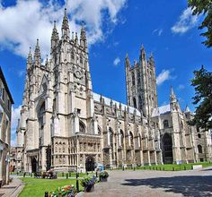 Canterbury Cathedral, England.  Famous from the Canterbury tales!
