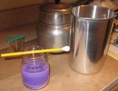 Art DIY Candle making site things-to-make
