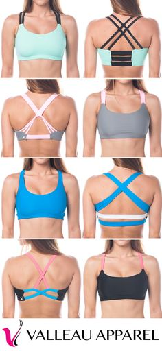 Such cute sports bras! Love this site for active wear! :)