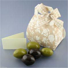 Aceitunas de chocolate bolsito. Detalles de boda .Regalosyeventos
