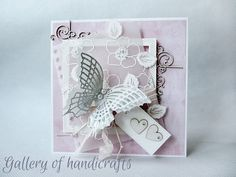 Gallery of handicrafts: Pink card