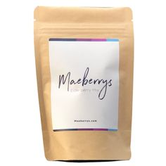 Maeberrys Elderberry Syrup Dry Mix