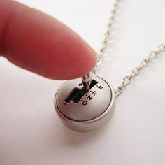 YOU Drive Me Crazy - Moving Mini Stick Shift Necklace ($19.99)