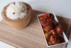 Arroz estilo tailandés - Cocina para uno en dos metros cuadrados