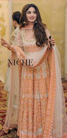 Sajal Ali in Nomi Ansari Pakistani couture- diff colors Pakistani Couture, Indian Couture, Pakistani Bridal, Indian Bridal, Pakistani Wedding Outfits, Pakistani Dresses, Indian Dresses, Indian Outfits, Wedding Dresses