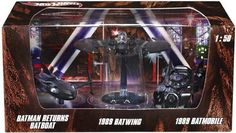 Hot Wheels 150 Batmobile 1989 Batmobile 1989 Batwing Batman Returns Batboat ** See this great product. Toddler Gifts, Kids Gifts, Holiday Deals, Holiday 2014, Christmas 2014, Batman Collectibles, Car Head, Play Vehicles, Batman Returns