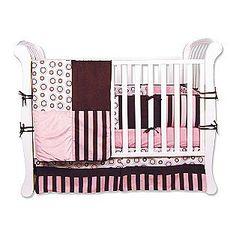 Trend-Lab -Bubblegum 4 piece Crib Set