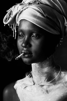 Strangely compelling, Model - Ataui Deng Photography - Elle Muliarchyk...