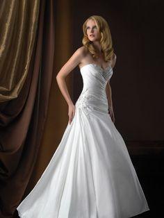 Allure Bridals Romance 2358 Taffeta Wedding Dress