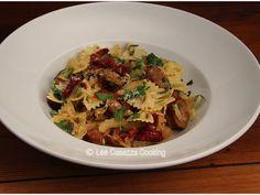 Big Mamma's Italian American Cooking: FARFELLE WITH ITALIAN SAUSAGES &…