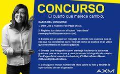 Conoce más sobre nuestro concurso a través de www.yquiendijoqueeracaro.com y participa!!!