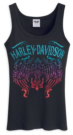The Harley-Davidson MotorClothes® Merchandise website provides information and education about Genuine Harley-Davidson MotorClothes® Merchandise products across Europe including riding gear, casual wear and accessories Harley Davidson Gear, Harley Davidson Merchandise, Harley Davidson Tank Tops, Harley Gear, Harley Davison, Biker Chick Style, Rocker Chic Style, Motorcycle Outfit, Motorcycle Clothes