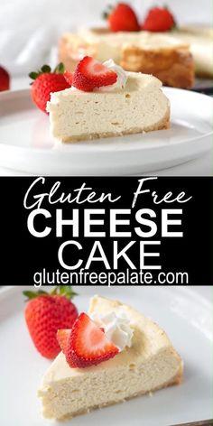 Gluten Free Recipes Videos, Easy Gluten Free Desserts, Gluten Free Baking, Delicious Desserts, Recipe Videos, Meal Recipes, Keto Desserts, Dessert Recipes, Dairy Free Cheesecake