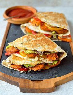 Loaded Veggie Quesadilla Recipe: for a must-make cheesy veggie delight