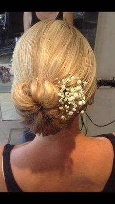 Classic soft bun  - beautiful for wedding hair