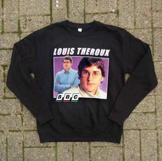 LOUIS THEROUX CREWNECK #louistheroux #tshirt #blacktee #crewneck #retro #90s #homagetees #vintage #kwaleo