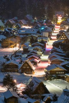 Home Discover Snowy town late at night Shirakawa-go Village Japan by Miyamoto Y. Snow Scenes Winter Scenes Beautiful World Beautiful Places Shirakawa Go Japanese Culture Japan Travel Amazing Photography Beautiful Pictures Beautiful World, Beautiful Places, Beautiful Pictures, Shirakawa Go, Japanese Landscape, Winter Scenes, Snow Scenes, Japanese Culture, Great View