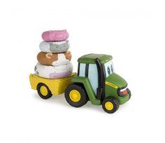 John Deere - Johnny Tractor met stapelringen - (46403) - https://www.bentoys.nl/nl/speelgoed/merken/tomy-john-deere-toys/675-johnny-tractor-met-stapelringen.html
